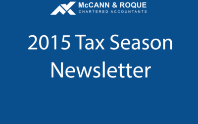 2015 Tax Season Newsletter